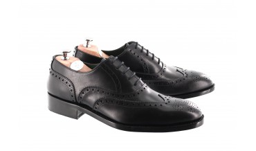 DEVOTE OXFORD SHOES BLACK