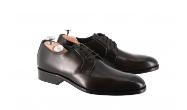 GABIAN DERBY SHOES SMOKED CHESTNUT BROWN