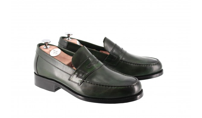 LARVOTTO LOAFER IMPERIAL GREEN