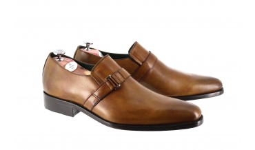 RIVIERA BUCKLES SHOES CHESTNUT BROWN