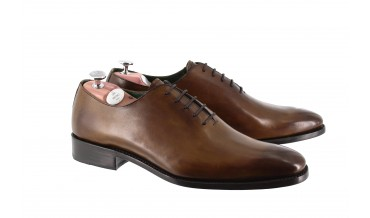 CASINO OXFORD SHOES MAHOGANY BROWN