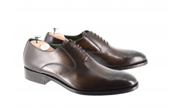 ANNONCIADE OXFORD SHOES SMOKED CHESTNUT BROWN