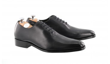 MONACO OXFORD SHOES HANDSMOKED GREY