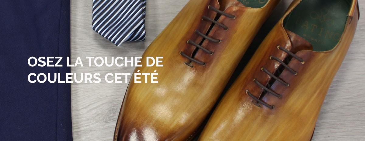 La touche de couleurs cet été - Patino shoes